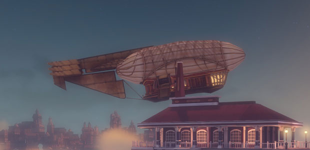 They look like steampunk airships, which is quite a way away from actual airships.