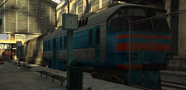 All trains are based on a general russian or soviet look.