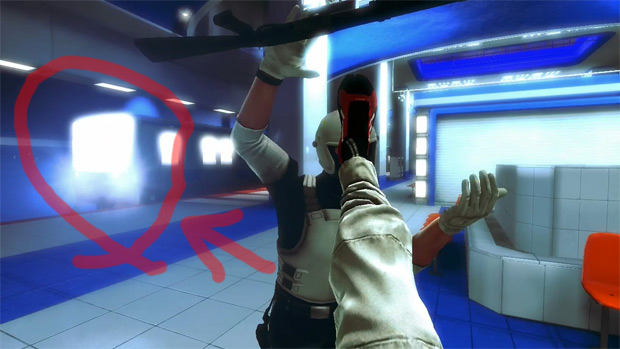 Mirror's Edge takes place, among other things, in subway stations